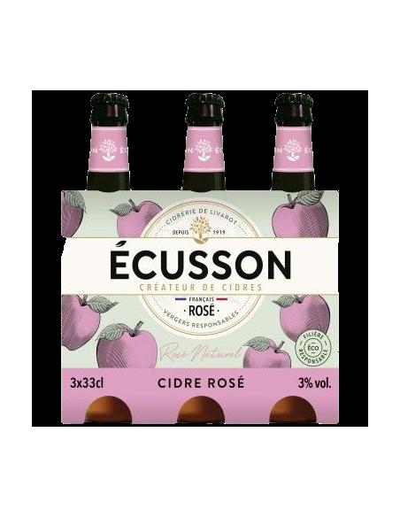 Cidre Ecusson Peche (Melocotón) 75cl